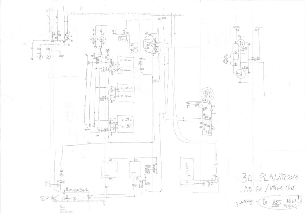 Boiler Room – Paper to CAD   MEP CAD Services